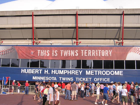 Hubert H Humphrey Metrodome - Minneapolis, Mn