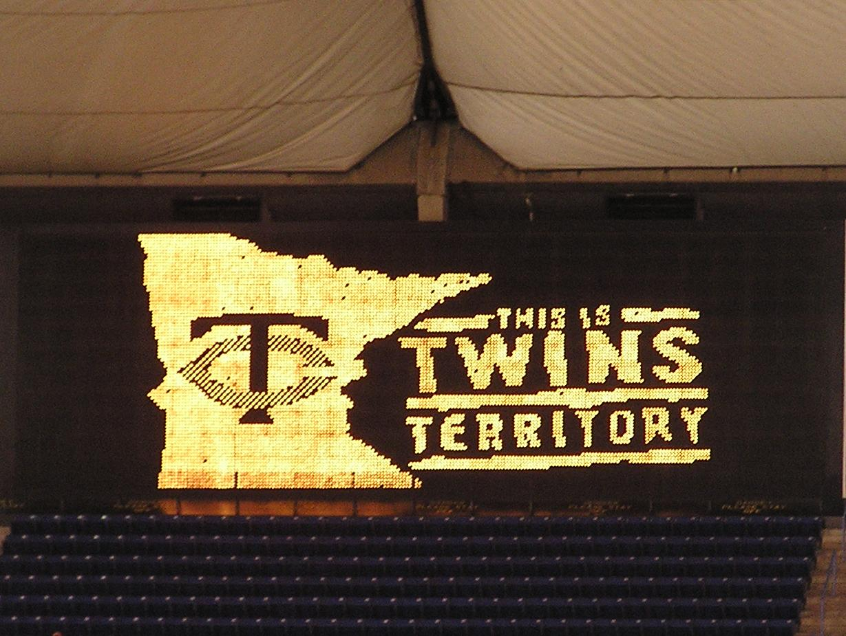 Twins Territory - The Metrodome, Minneapolis